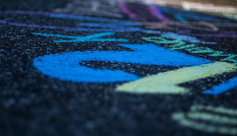 Driveway Chalk Art 10
