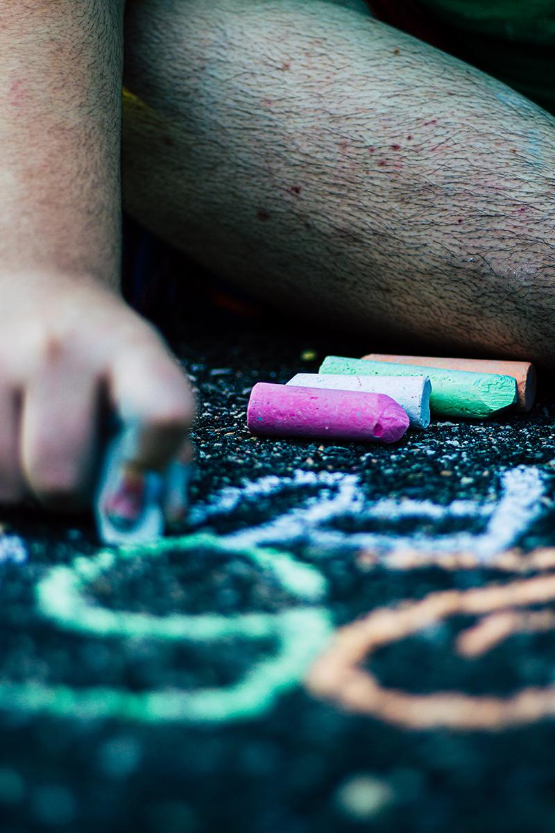 Driveway Chalk Art 6