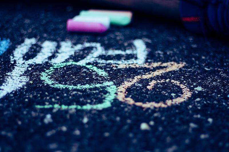 Driveway Chalk Art 9